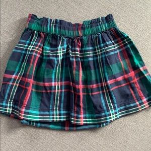 Plaid Gymboree skirt